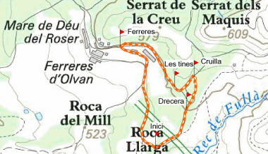 Route of the Tines Ferreres