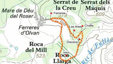 Ruta de les Tines de Ferreres