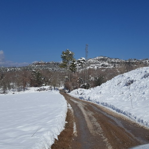 Nevada-camí-Ferreres-casa-rural