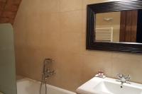 The bathroom in the triple bedroom